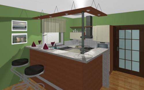 Nábytek a vybavení interiéru domu